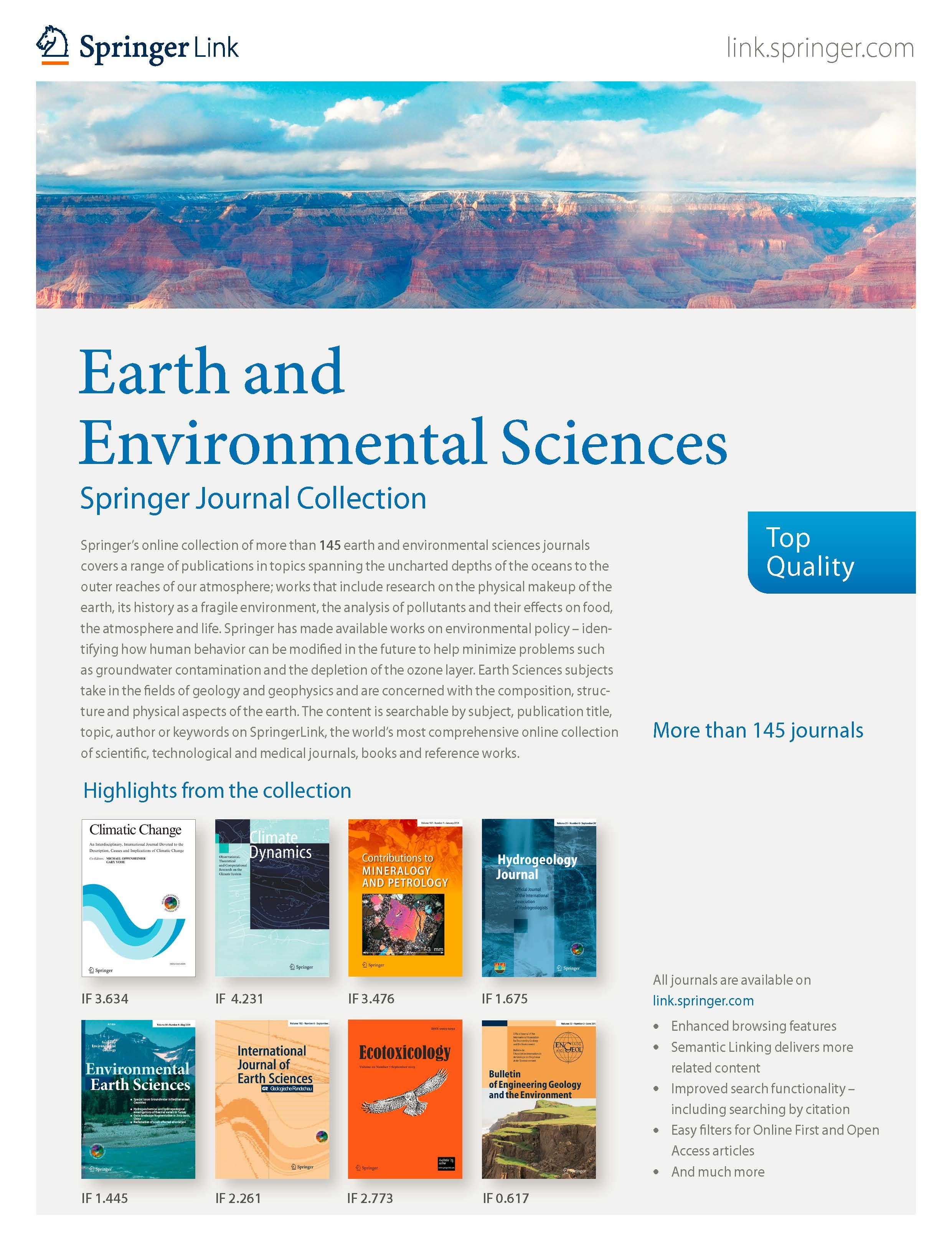 Earth & Environmental Sciences