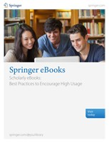 Scholarly eBooks: Best Practices to Encourage High Usage