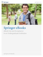eBook Use and Acceptance in an Undergraduate Institution