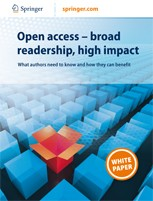 Open Access - Broad Readership, High Impact: What authors need to know