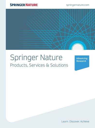 Springer Nature Products, Services & Solutions