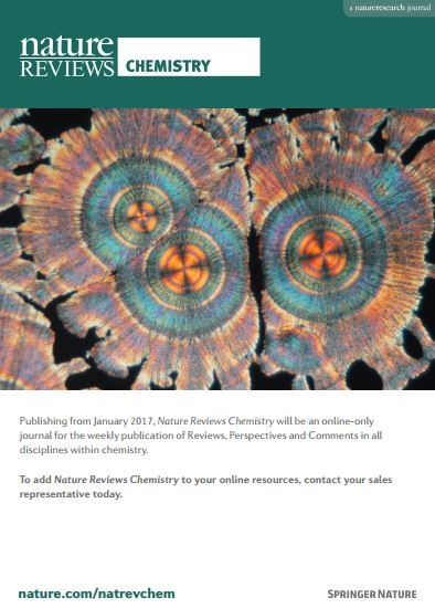 Nature Review Chemistry 브로셔: 2017런칭