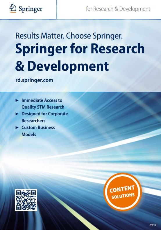 Springer for R&D (Corporate customers)