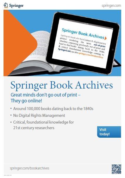 Springer Book Archives