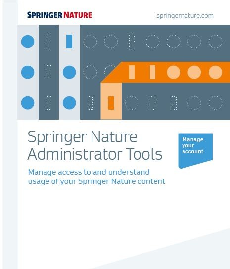 Springer Nature Administrator Tools overview