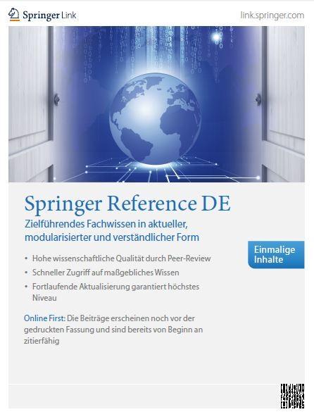 Springer Reference DE Broschüre