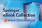 Bannière Springer eBooks