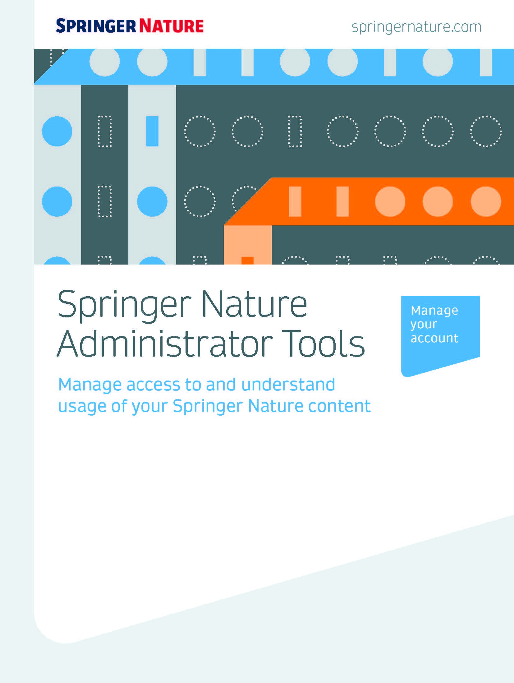 Springer Nature Adminstrator Tools Guide