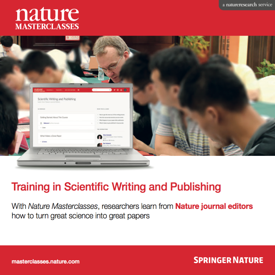 Nature Masterclasses Brochure