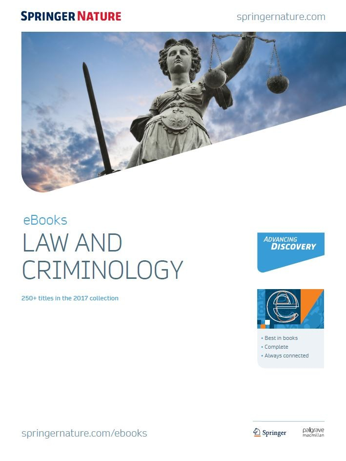 Law criminology collection for librarians springer nature law criminology fandeluxe Image collections