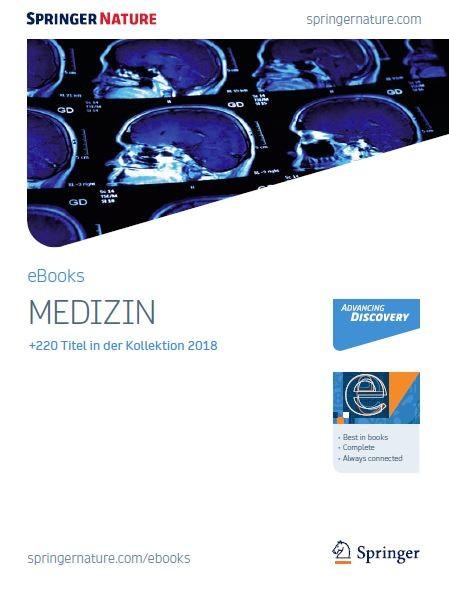 Medizin eBooks Broschüre 2018