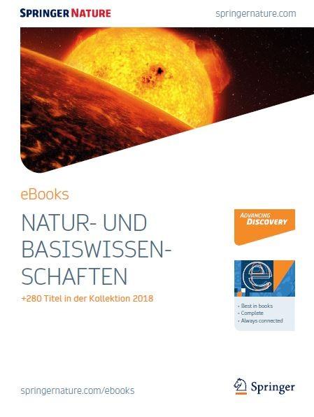Naturwissenschaften eBooks Borschüre 2018
