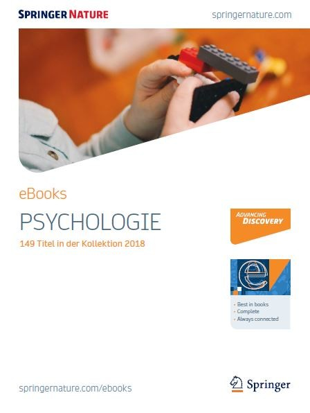 Psychologie eBooks Broschüre 2018
