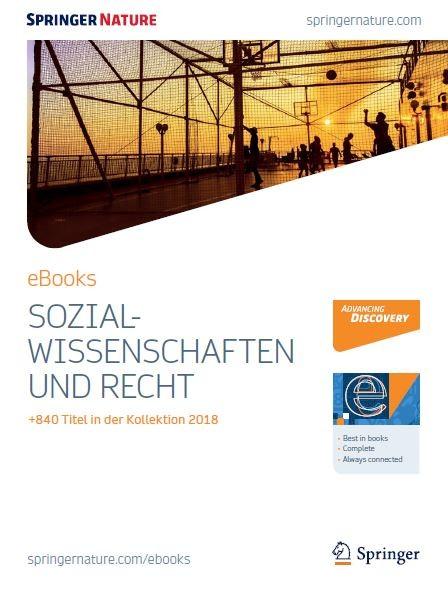 Sozialwissenschaften eBooks Broschüre 2018
