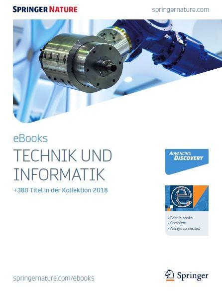 Technik und Informatik eBooks Broschüre 2018