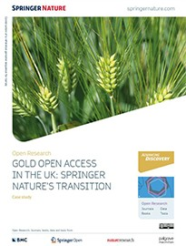 Case study - Gold OA in the UK