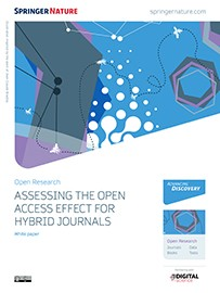 White paper - Assessing the open access effect for hybrid journals