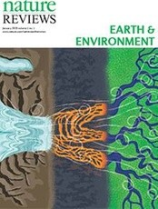 Nature Reviews Earth and Environment journal cover