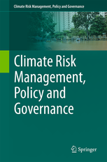 Climate Risk Management, Policy and Governance