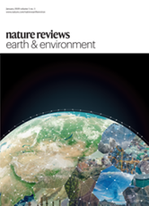 Nature Reviews Earth & Environment cover