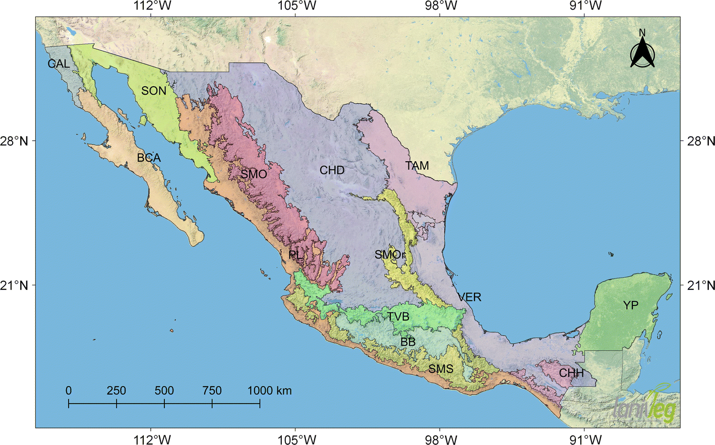 Picture of: Figure 1 Western Mexico Is A Priority Area For The Conservation Of Cosmos Coreopsideae Asteraceae Based On Richness And Track Analysis Springerlink