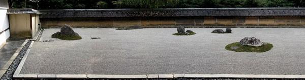 Visual structure of a Japanese Zen garden   Nature