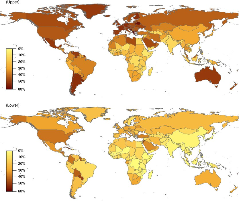 Global Burden Of Obesity In 2005 And Projections To 2030 International Journal Of Obesity