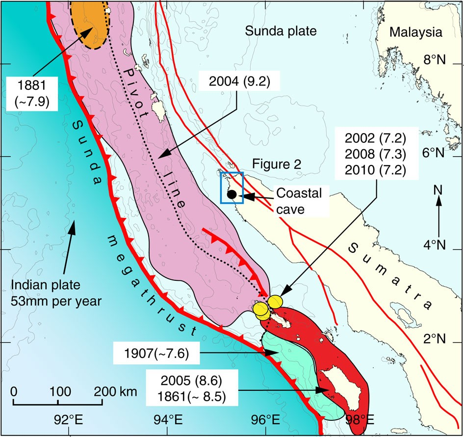 Highly Variable Recurrence Of Tsunamis In The 7 400 Years Before The 2004 Indian Ocean Tsunami Nature Communications
