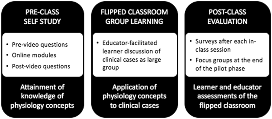 Flipping the classroom: a national pilot curriculum for