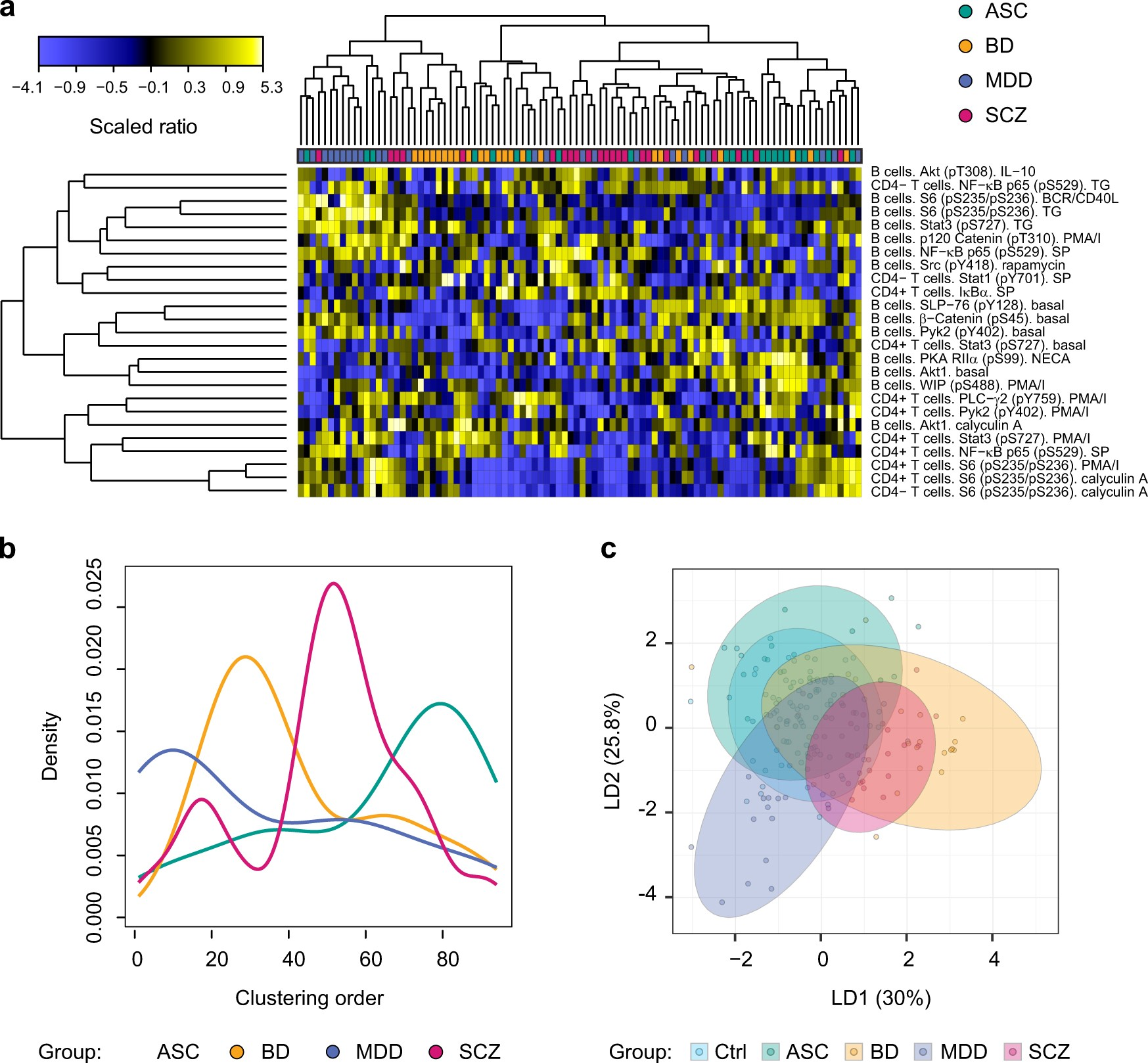 Exploring The Neuropsychiatric Spectrum Using High Content Functional Analysis Of Single Cell Signaling Networks