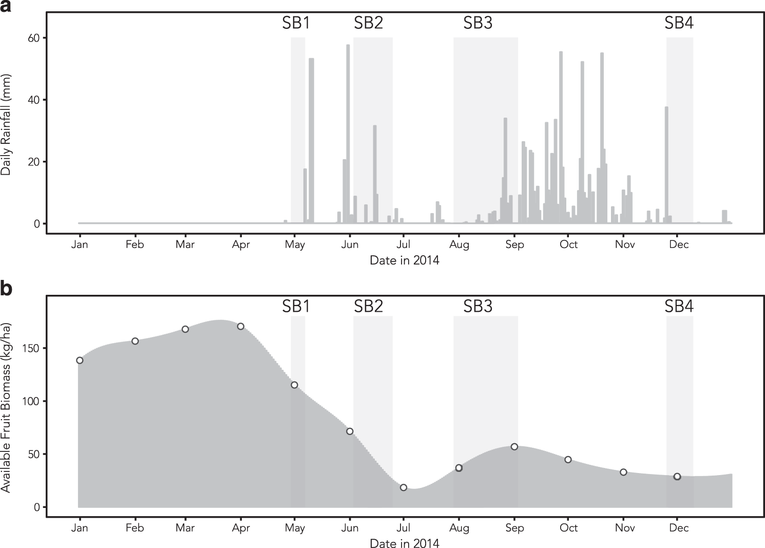Seasonality of the gut microbiota of free-ranging white-faced