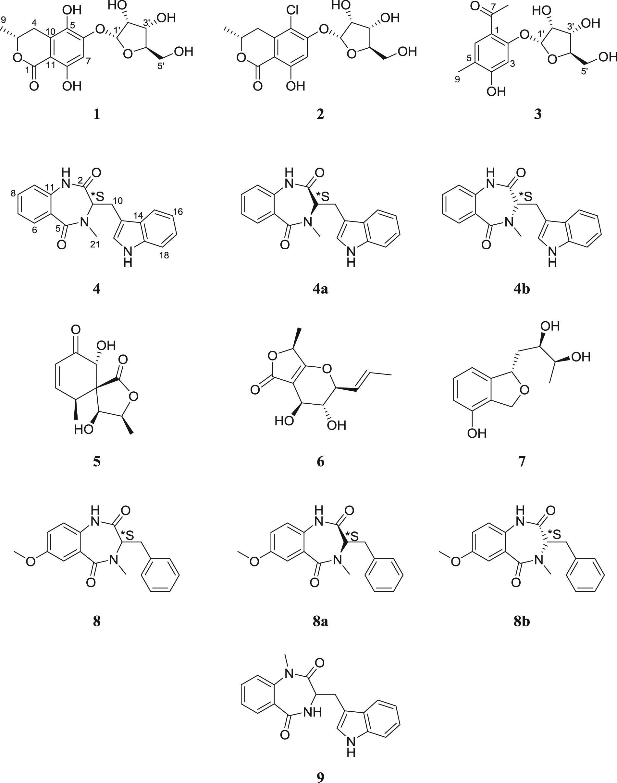 Additional α Glucosidase Inhibitors From Malbranchea Flavorosea