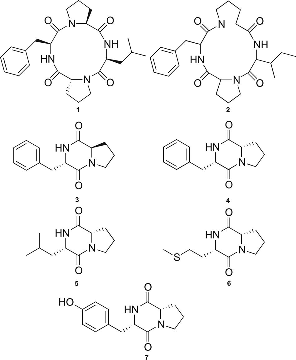 Cyclic Tetrapeptides From The Marine Strain Streptomyces Sp Pnm