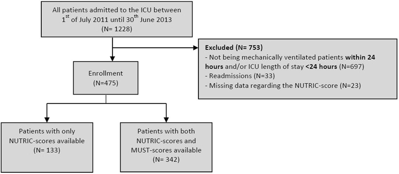 patient dependency scoring system