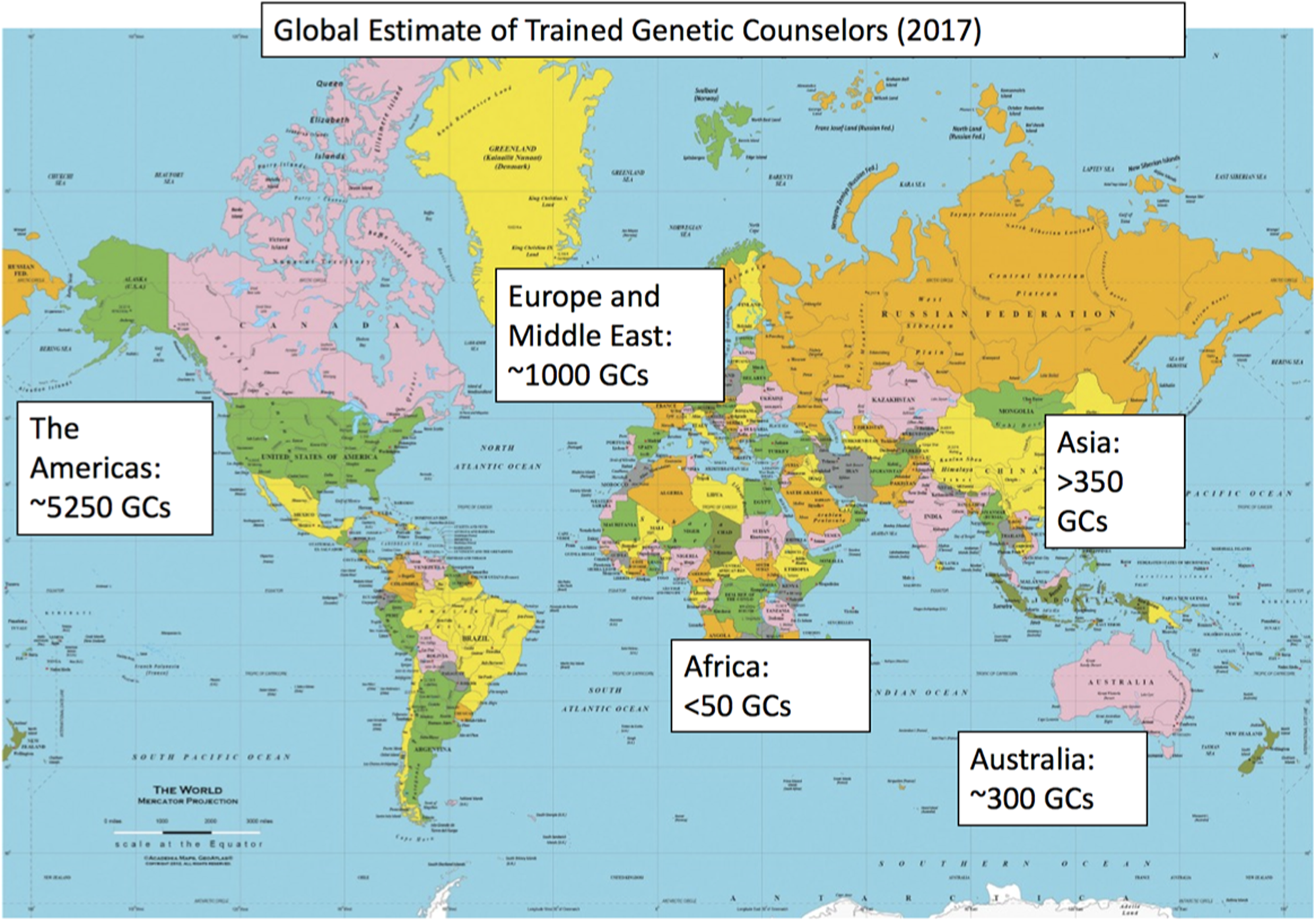 The Global State of the Genetic Counseling Profession