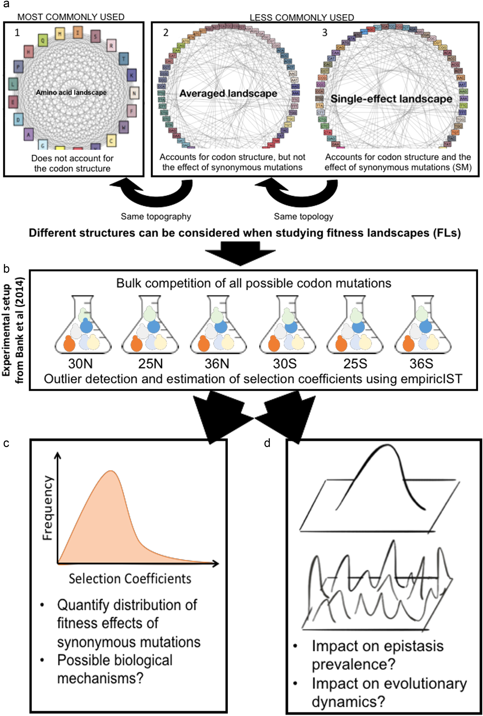 The Fitness Landscape Of The Codon Space Across Environments Heredity