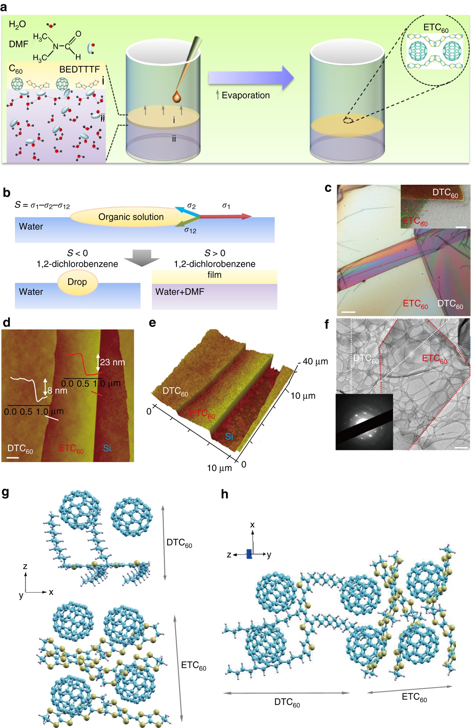 Tunable Two Dimensional Interfacial Coupling In Molecular Offset Printing Process Flow Diagram Free Download Wiring Heterostructures Nature Communications