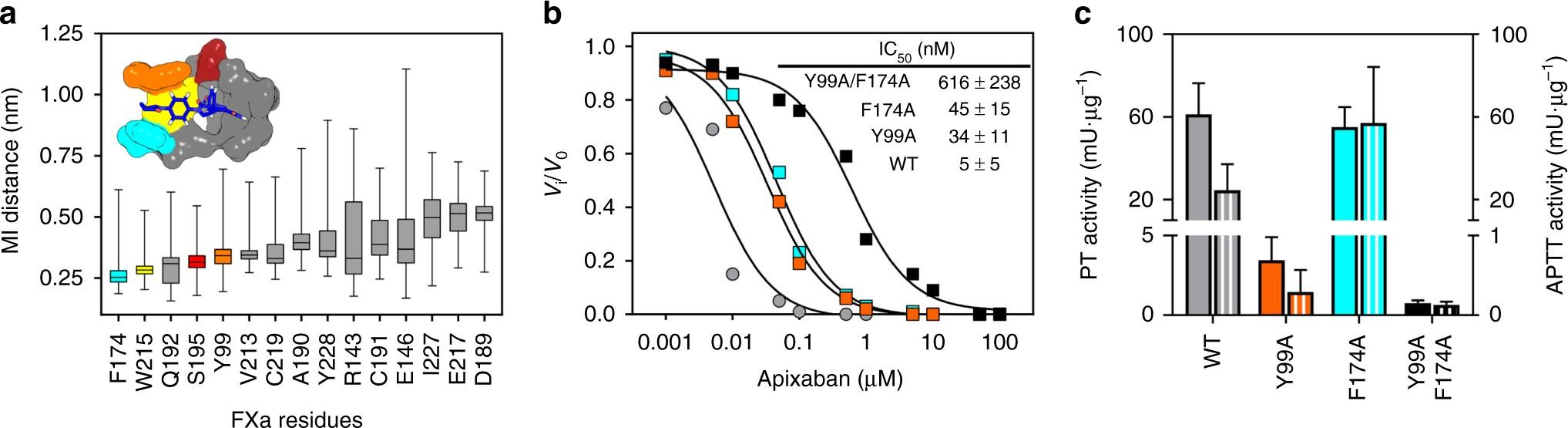 Engineered Factor Xa Variants Retain Procoagulant Activity Independent Of Direct Factor Xa Inhibitors Nature Communications