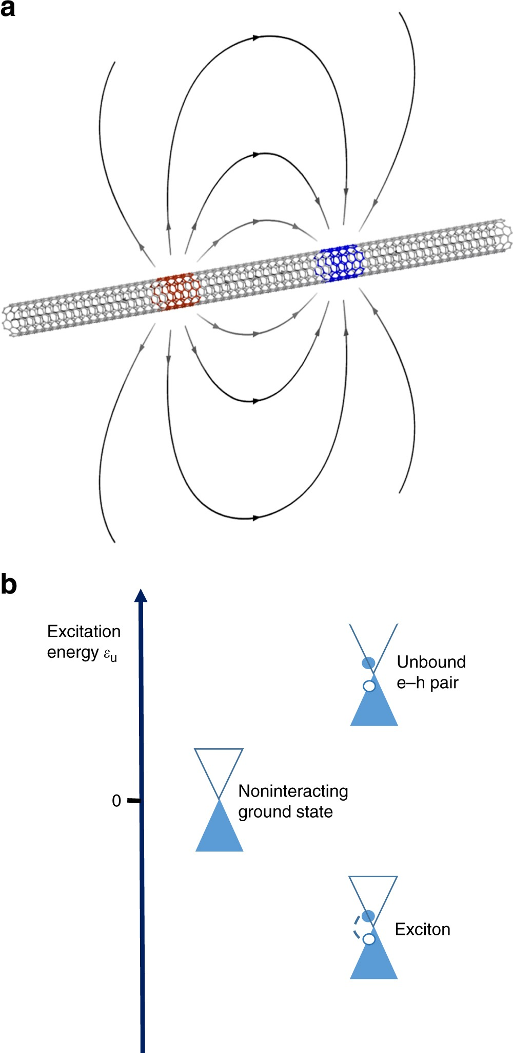 Carbon Nanotubes As Excitonic Insulators Nature Communications This Ladder Diagram Arrangement May Be Easily Coded Shown In The