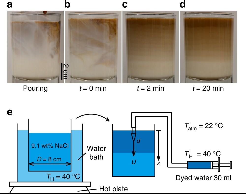 Laboratory layered latte | Nature Communications