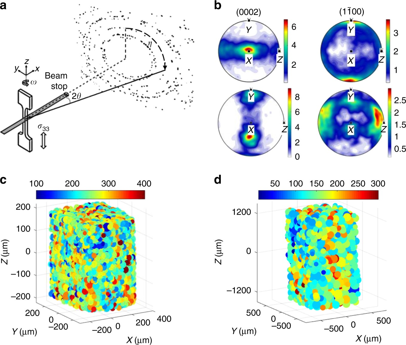 Strong Grain Neighbour Effects In Polycrystals Nature Communications Axis Ceria