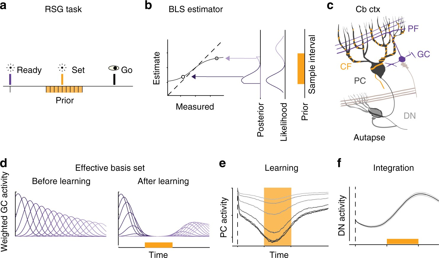 A Cerebellar Mechanism For Learning Prior Distributions Of Time Once The Bias Is Set This Circuit Will Supply Constant Current To Intervals Nature Communications