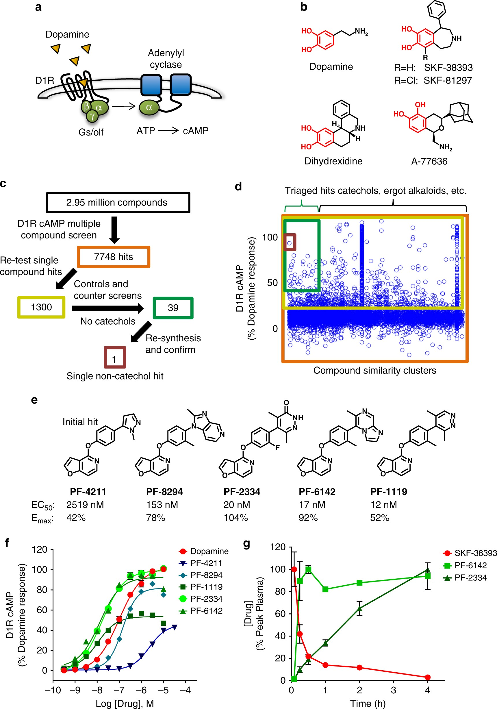Impaired Arrestin Recruitment And Reduced Desensitization By Non Seven Segment Counter Display Circuit Mains Failure Alarm Catechol Agonists Of The D1 Dopamine Receptor Nature Communications