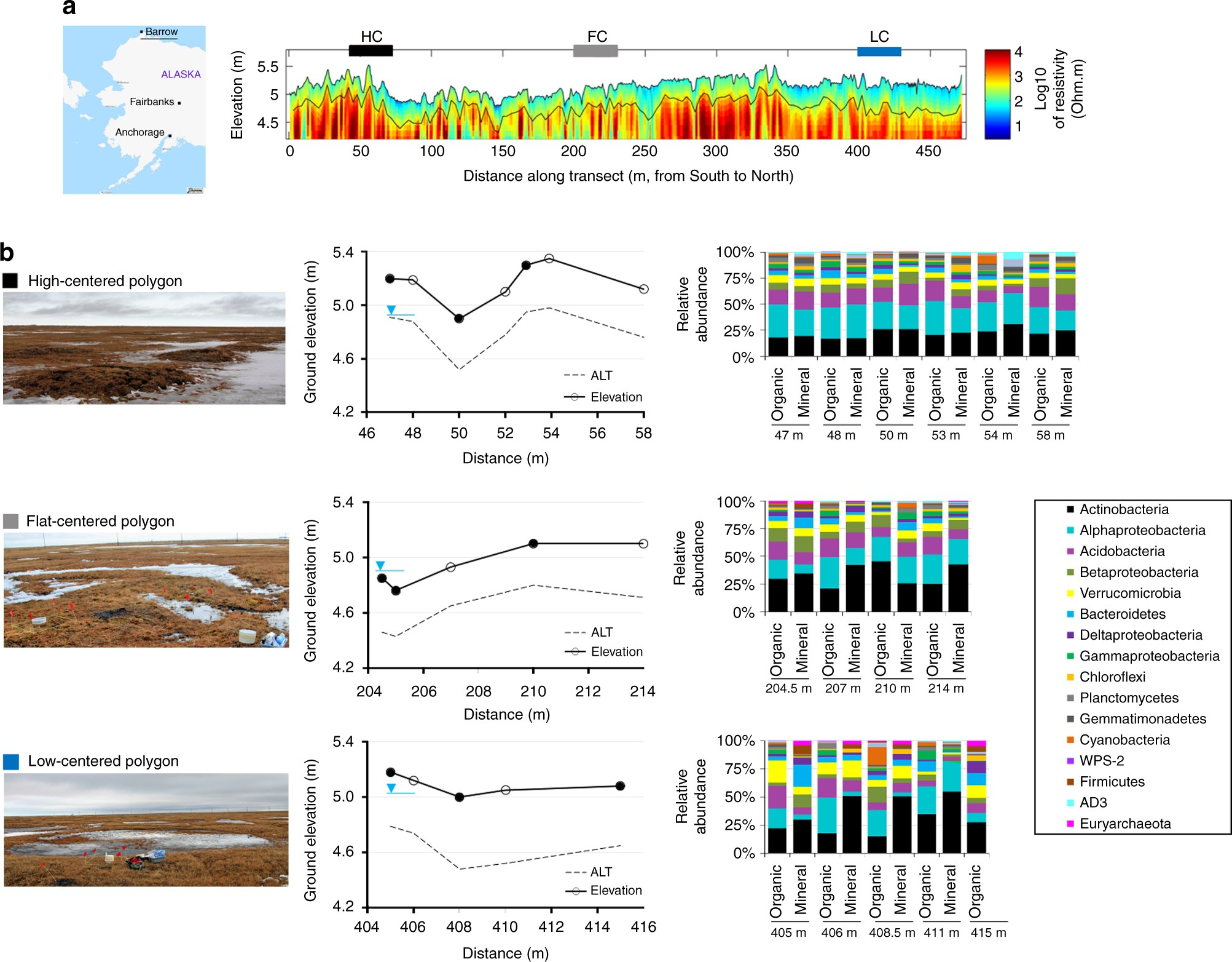 Landscape topography structures the soil microbiome in arctic landscape topography structures the soil microbiome in arctic polygonal tundra nature communications pooptronica Images