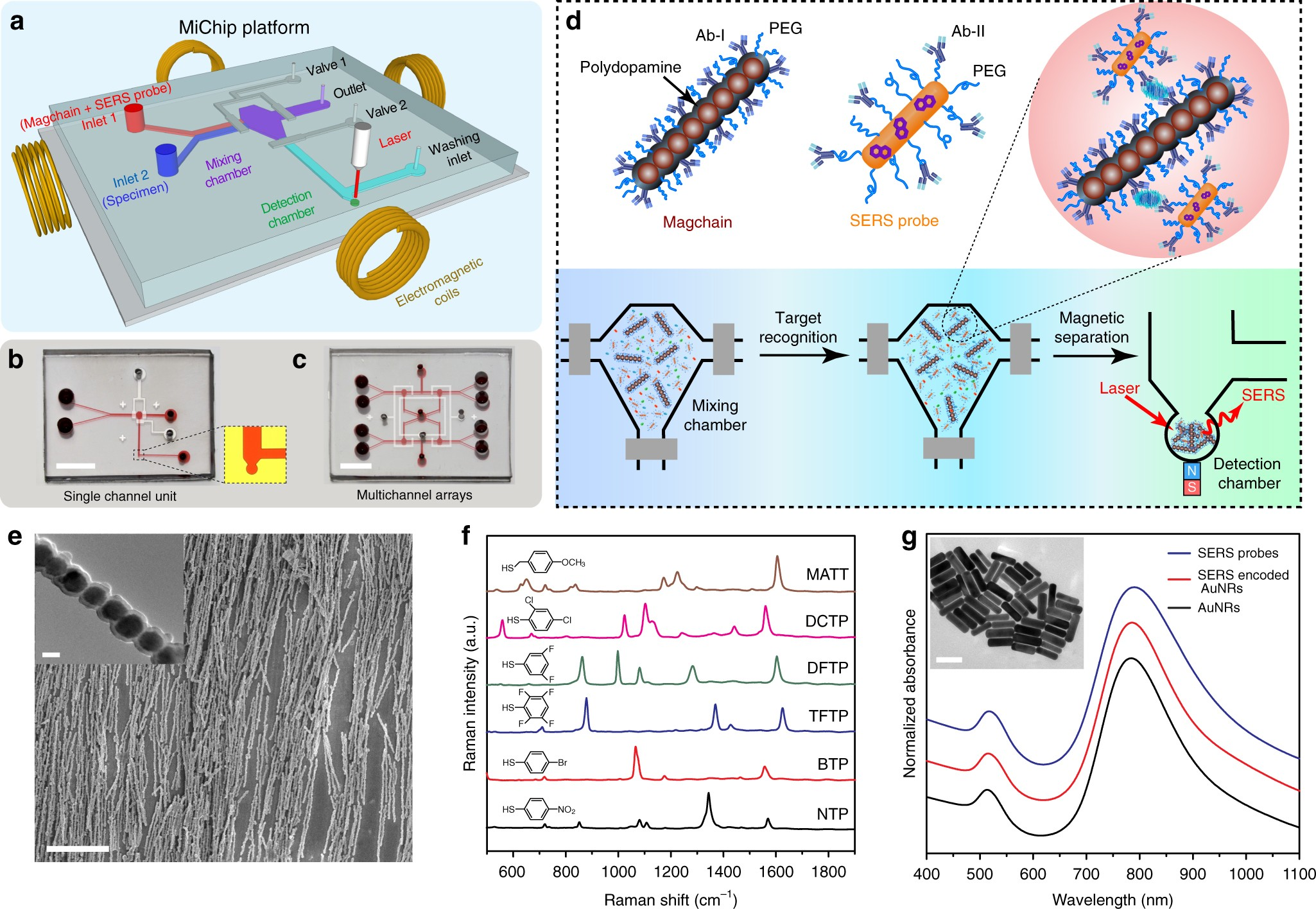 Magnetic Nanochain Integrated Microfluidic Biochips Nature Electronics Technology Pink Flicker Noise Generator Circuit Communications