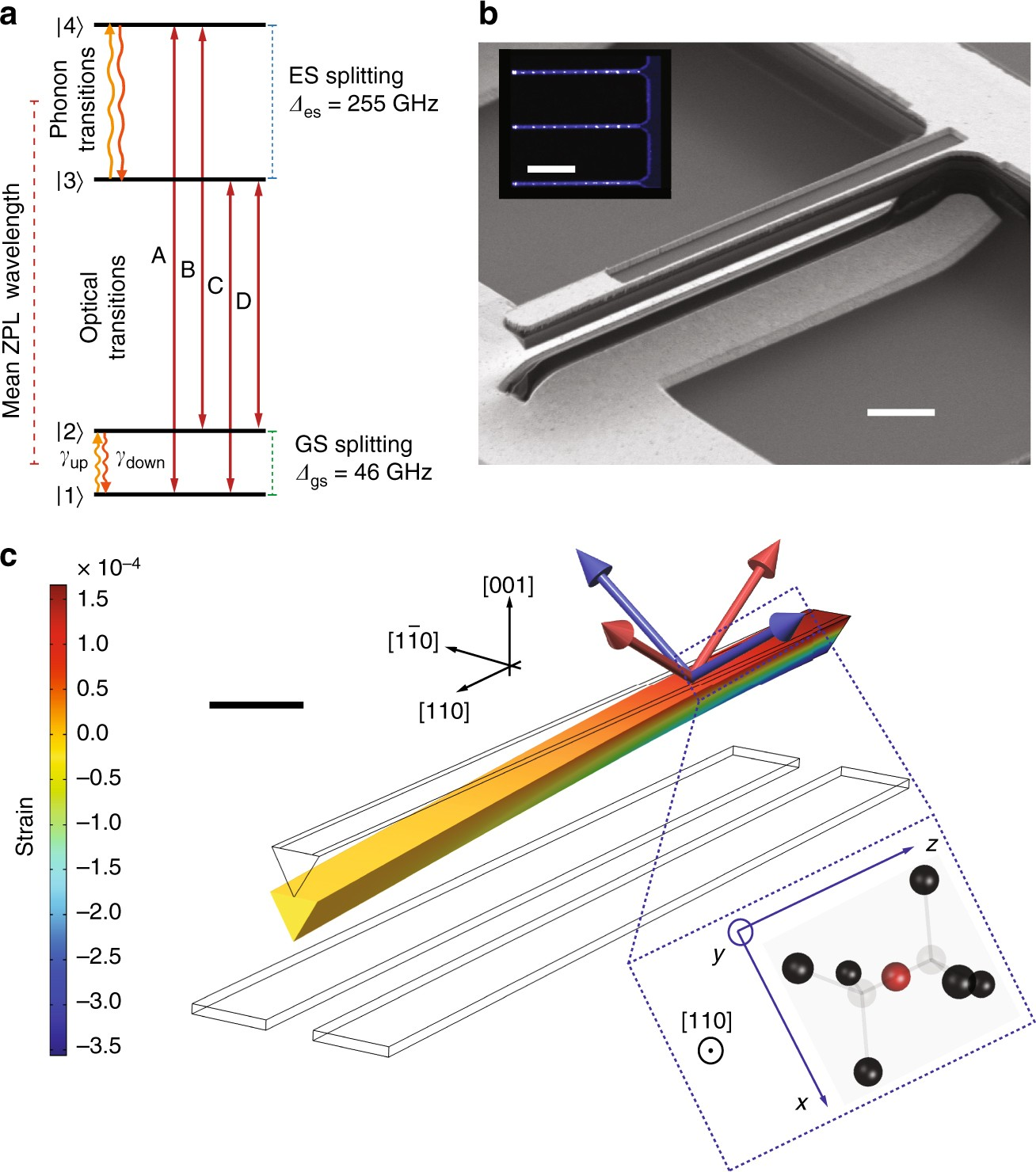Controlling The Coherence Of A Diamond Spin Qubit Through Its Strain Environment Nature Communications