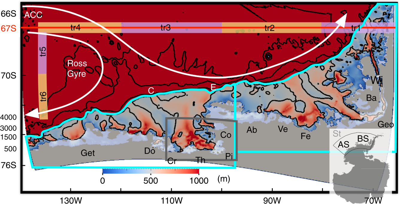 Origin Of Circumpolar Deep Water Intruding Onto The Amundsen And Drz 400 2005 Wiring Diagram Bellingshausen Sea Continental Shelves Nature Communications