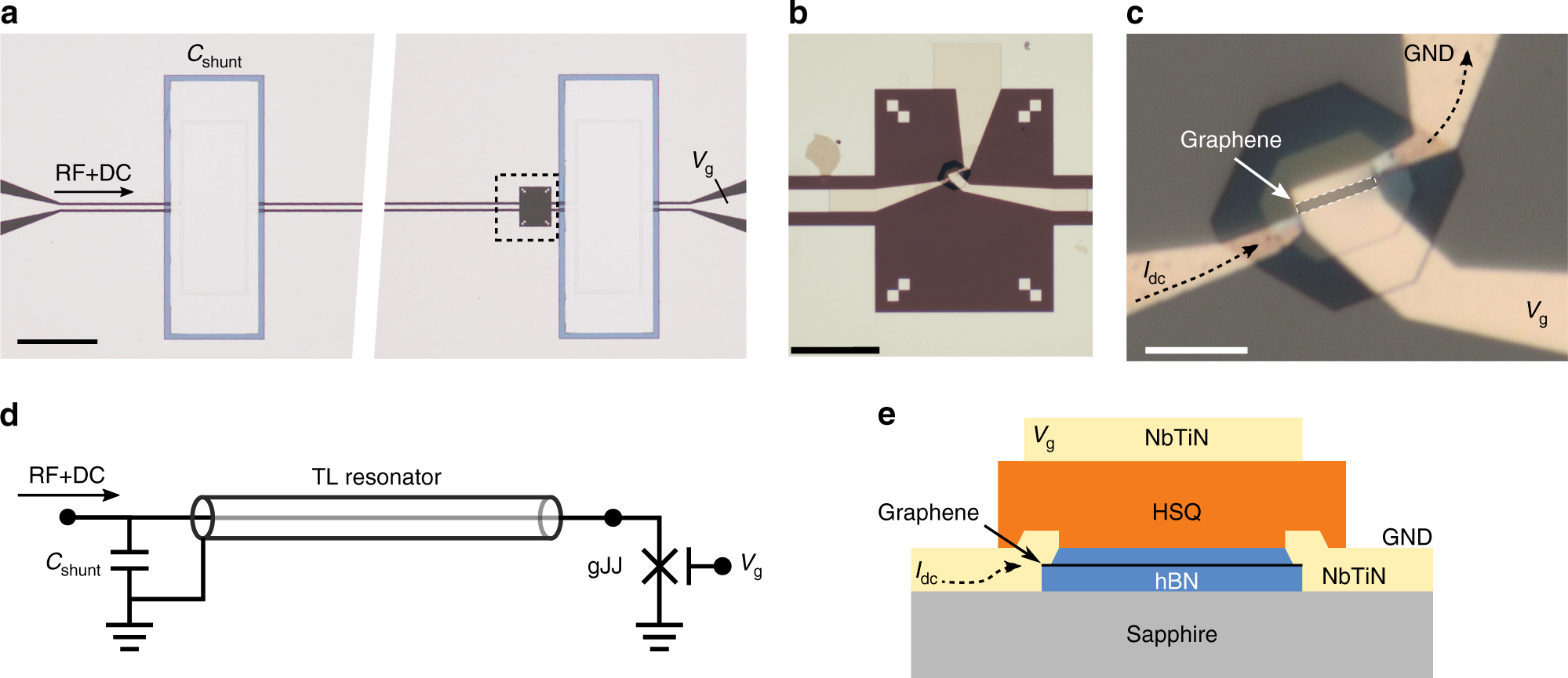 A Ballistic Graphene Superconducting Microwave Circuit Nature Shows You How To Build Dcdc Schematichere39s Dc Communications
