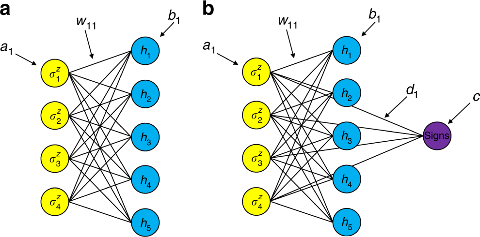 Quantum machine learning for electronic structure