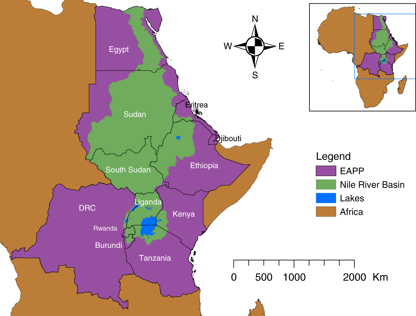Resilience of the Eastern African electricity sector to